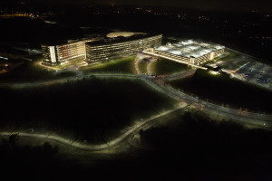 National Geospatial-Intelligence Agency (NGA) Headquarters, Springfield, Virginia. NGA photo by Trevor Paglen (public domain) http://bit.ly/1nr2UGY