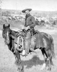 Picture: Cowboy (1887) by John C. H. Grabill, Library of Congress, Wikipedia (public domain)